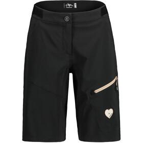 Maloja RoschiaM. Pantaloncini Multisport Donna, nero